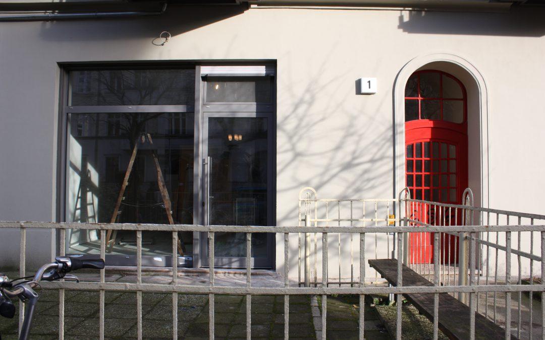 Unsere neue Adresse:Schulzestraße 1