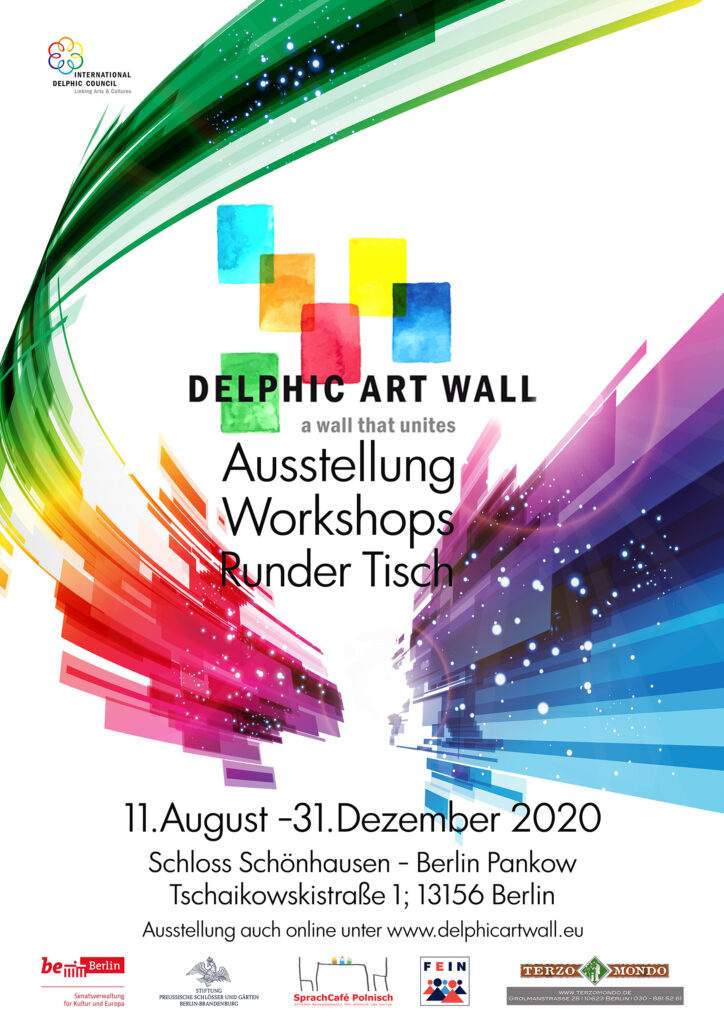 Eröffnung der DELPHIC ART WALL – Ausstellung